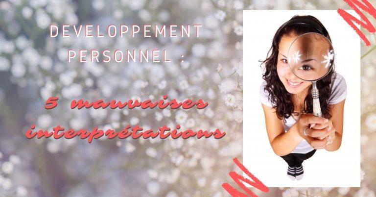 5 ERREURS en Développement Personnel