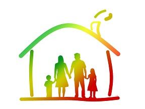 vivre confinement famille