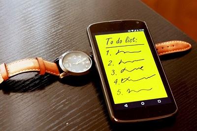 Être serein au quotidien, liste des choses à faire