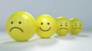 Nous ressentons une multitude d'émotions toute notre vie